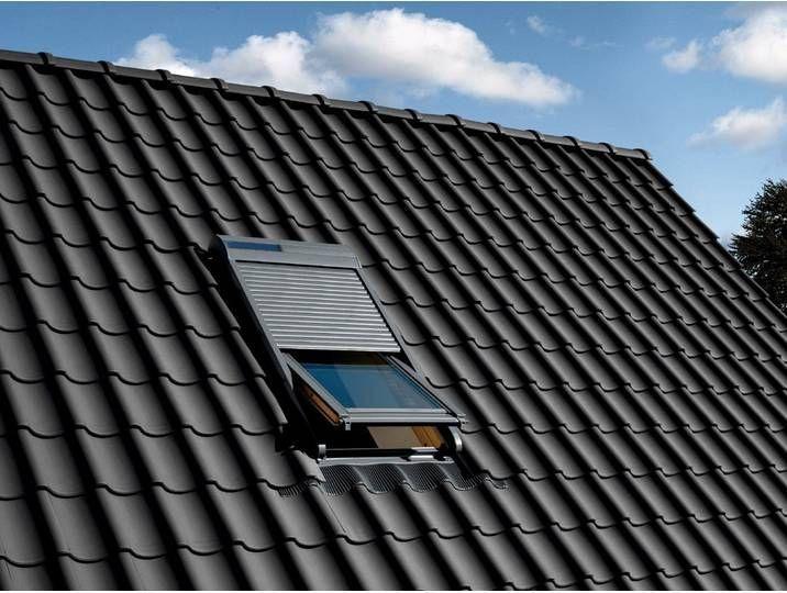 Velux Solarrollladen Ssl Fur Fenstergrosse Ck02 C02 102 Grau Ck02 Velux Solarrollladen Ssl Fur In 2020 Fenstergrossen Rollladen Dachfenster Rolladen