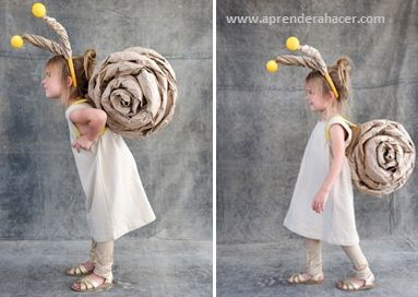Aprender a Hacer - Manualidades para niños | Como hacer un disfraz de Caracol