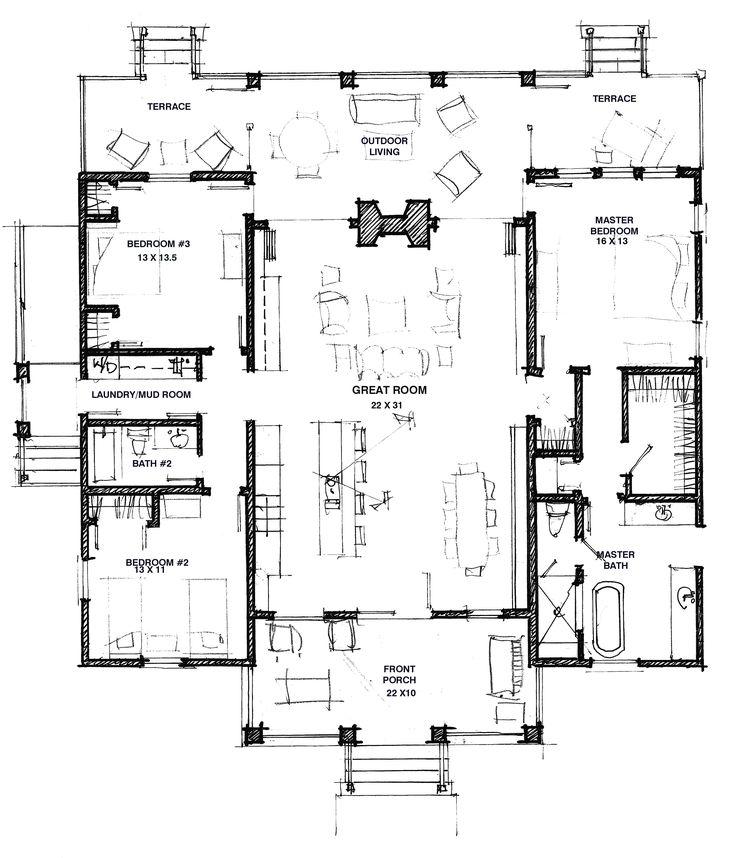 Great Floor Plan - Modern Dog Trot