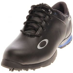 SALE - Oakley Blast Golf Cleats Mens Black Leather - Was $150.00 - SAVE $10.00. BUY Now - ONLY $139.99