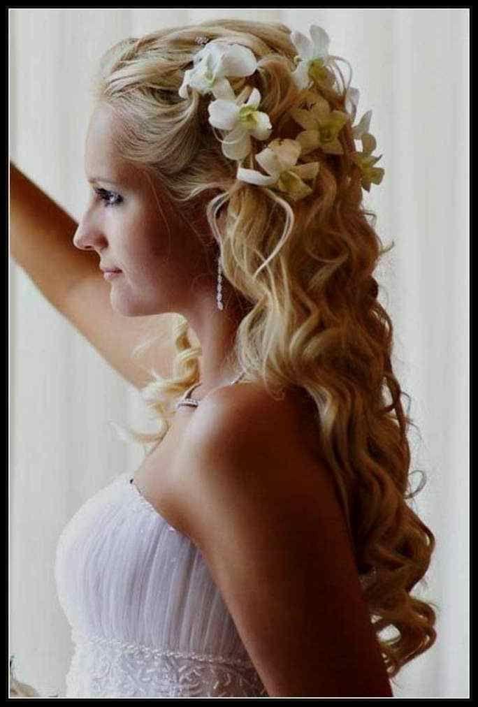 Top Frisuren Brautfrisuren Lange Haare Halboffen B…