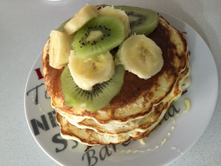 Pancakes#morning%sweet#love