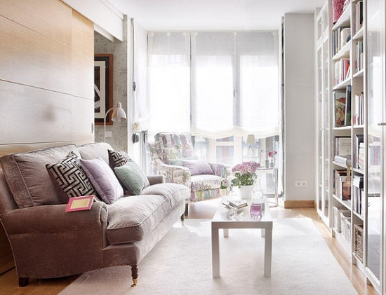 Interiors And Design Less Ordinary Tiny Charming 40 Square Meter Apartment Interior