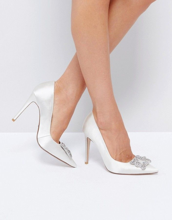 Dune Bridal Breanna Embellished Shoes #http://shopstyle.it/l/b9Kj