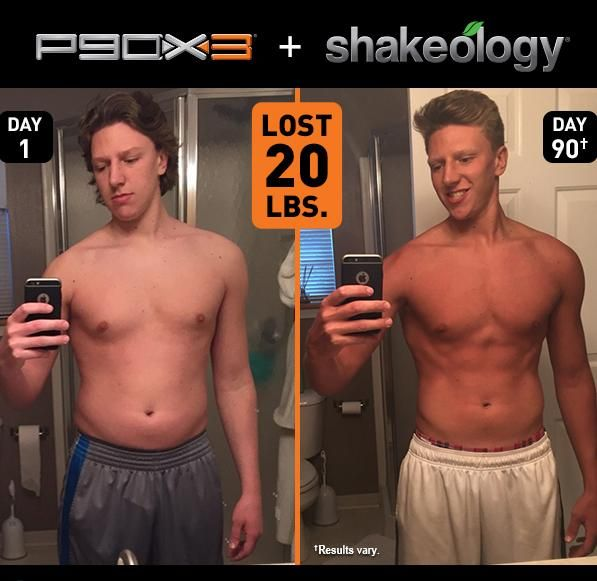 P90x3 Results Aaron Lost 20 Pounds And Won 500