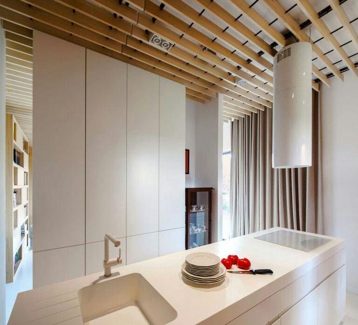 Architekci design a flat interior in poznań poland