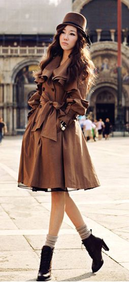 Cute trench