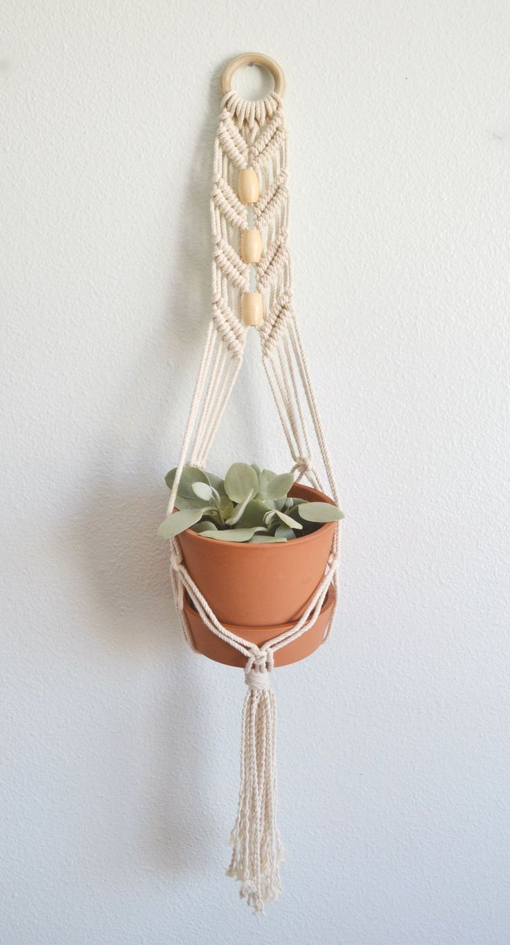 Over 1000 idéer om Macrame Plant Hangers på Pinterest ...