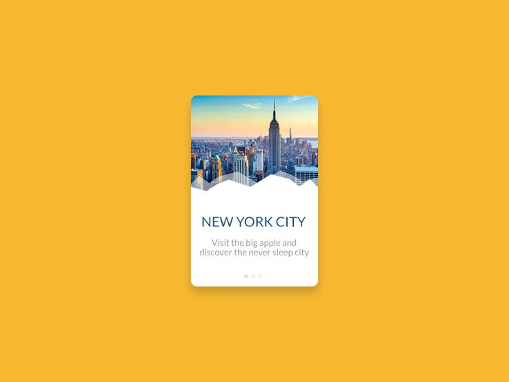 New York Card by Giovanni Tancredi