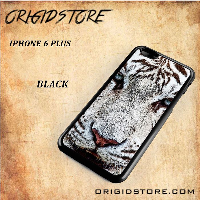 White Tiger Black White Snap On Or 3D For Iphone 6 Plus