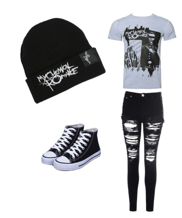 """My Chemical Romance"" by iidreamcatcherii ❤ liked on Polyvore featuring beauty and Glamorous"