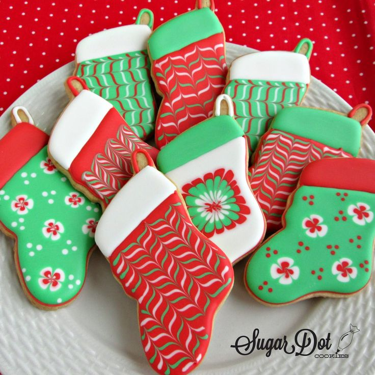 Sugar Dot Cookies: Christmas Cookies 2014