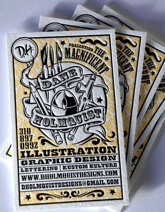 Currently Browsing Dane Holmquist Business Card For Your Design Inspiration