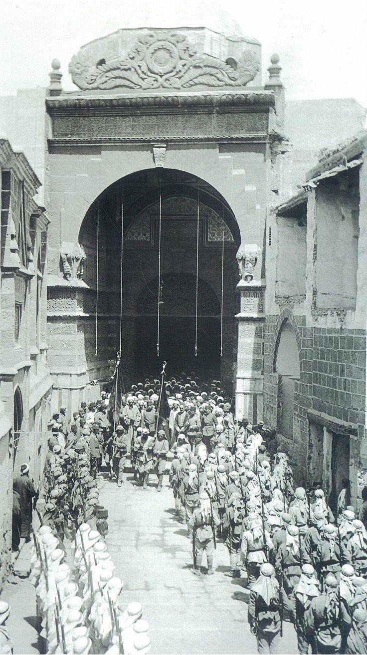 [Ottoman Empire] Ottoman Soldiers in Medina (Medine'de Osmanlı Askerleri)