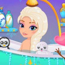 Baby Elsa Frozen Shower 596