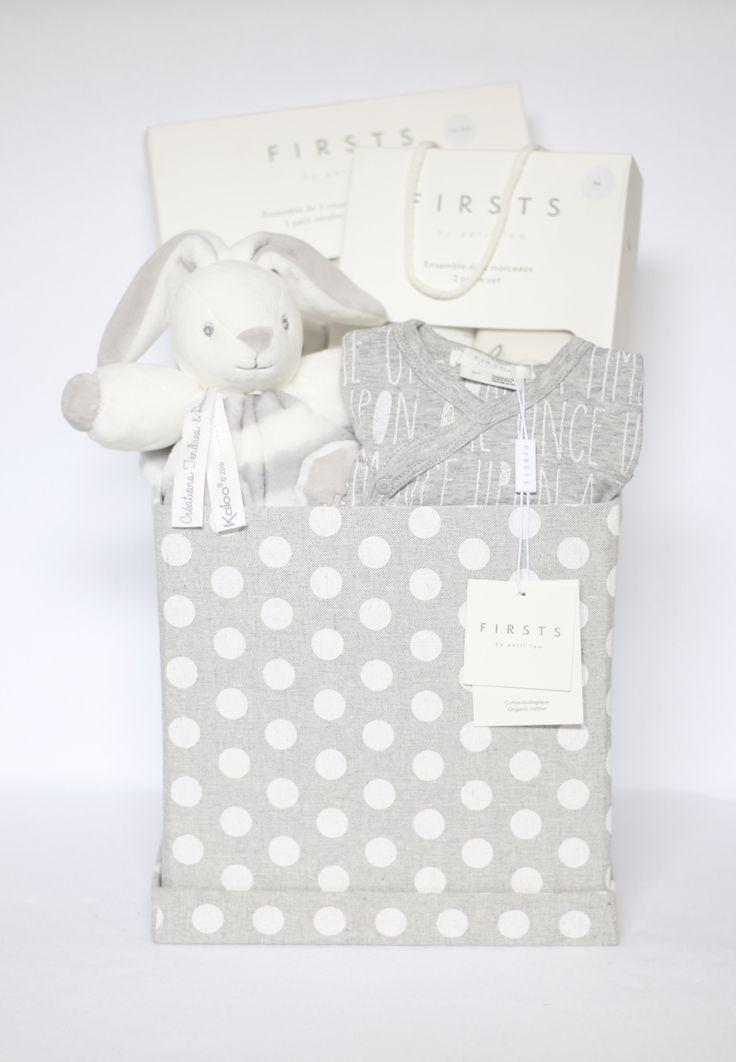 Gender Neutral Grey Cube Gift