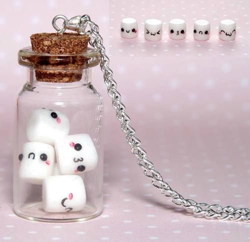 Marshmallows in a bottle