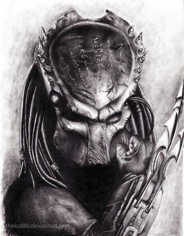 Image Gallery predator drawings