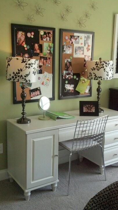 22 Best Teen Vanity Desk Images On Pinterest Bedroom