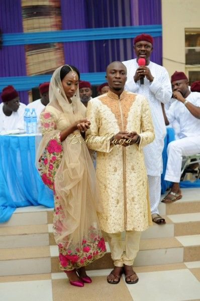Nigerian Muslim Wedding Bollywood Nikkah BellaNaijaTAP 5297