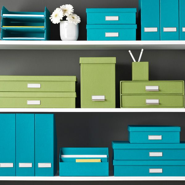 Bigso Bright Stockholm Office Storage Boxes From The Container Store