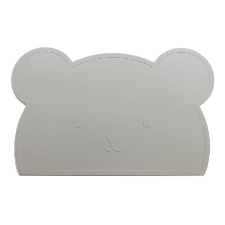 Grey Bear Silicone Placemat - Oh Happy Fry  - 1