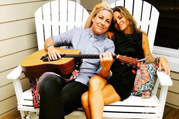 Abby Wambach Marries Christian Mom Blogger Glennon Doyle Melton: 'Love Wins' Christian mommy blogger Glennon Doyle Melton and retired soccer champ Abby Wambach wed in a stunning ceremony on May 14, proving that love truly does conquer all. http://hollywoodlife.com/2017/05/15/abby-wambach-married-glennon-doyle-melton-christian-blogger-pics/