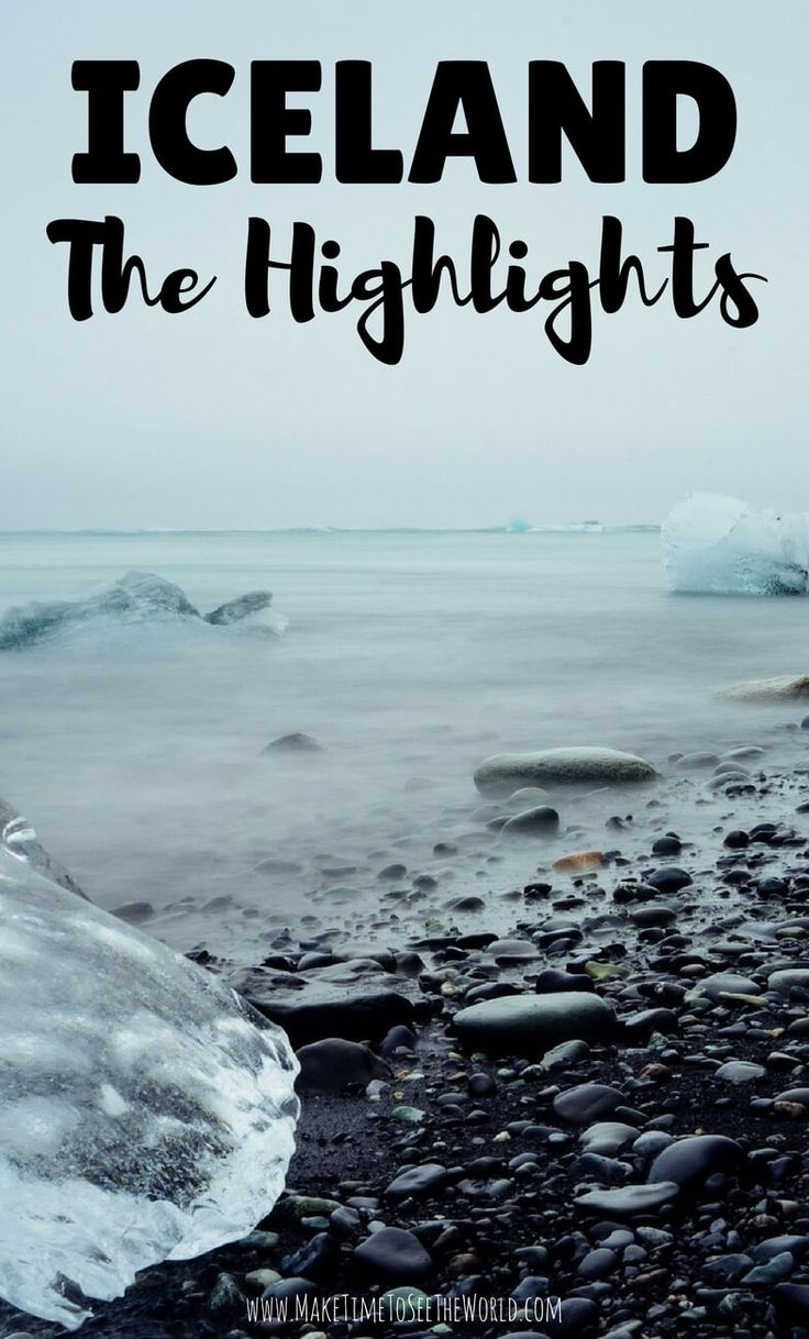 Highlights of Iceland