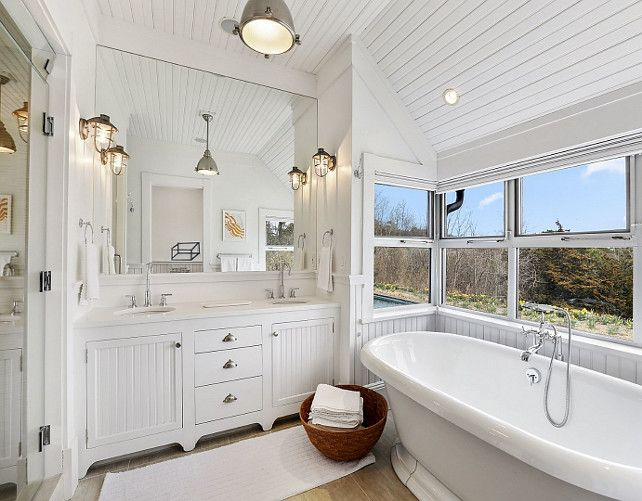 White Bathrooms With Beadboard 25 best landelijke badkamers images on pinterest | bathroom ideas