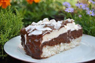Lucy loves to bake: Kokosová torta