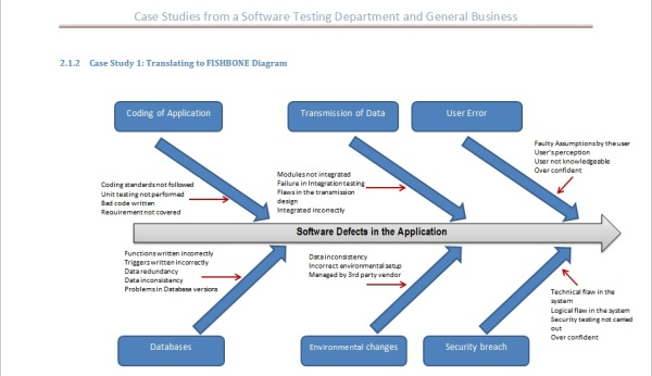 Fishbone Diagram Software Defects resized 600 | Diagram | Pinterest
