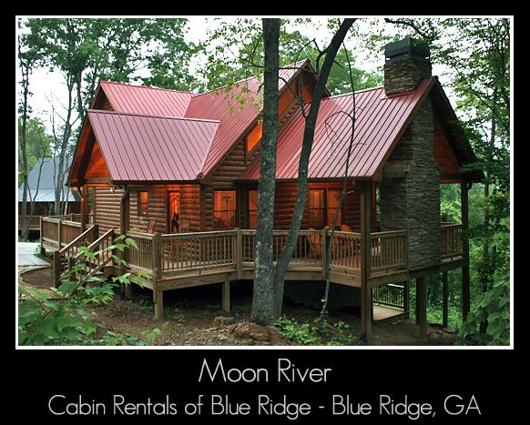 **Moon River Cabin - 3 bedroom rental cabin located in Blue Ridge Georgia.