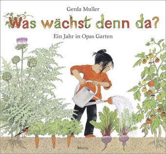 Sophie ist ein Stadtkind, das die Ferien bei ihrem Opa-Pa auf dem Land verbringt. Kannte sie bislang Gemüse nur aus dem Supermarkt, lernt sie nun, wie es angebaut wird, darf auch selber säen und ernten. Ein Bilderbuch, das anschaulich und warmherzig in Bild und Text von den Freuden an der Arbeit im Garten erzählt und gleichzeitig gut erklärt, wie Gemüse angebaut wird und weiterverwertet werden kann. Gerda Muller, Was wächst denn da? Ein Jahr in Opas Garten. Moritz Verlag. Grundschulalter.