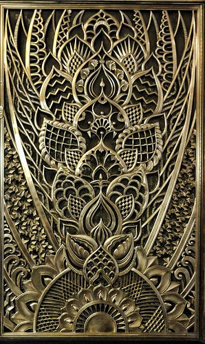 Art Deco architectural detail :: The Chanin building, New York