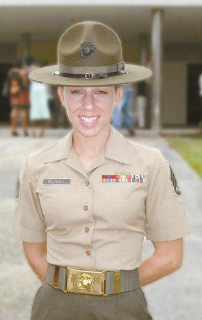 Marine Corps Women Drill Instructors | Female Marine Drill