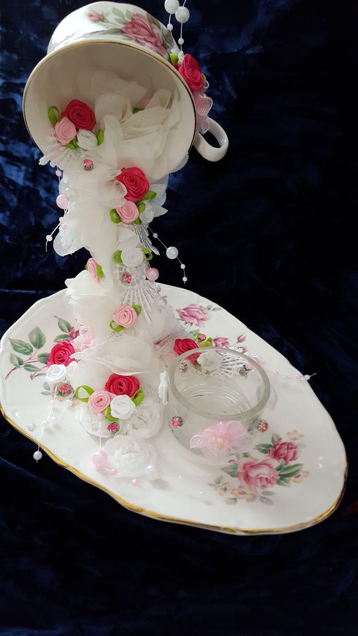 Tea Light Holder, Floating Cup