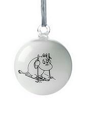 Muumi-joulupalloja (muutkin kuin muumipeikko käy)