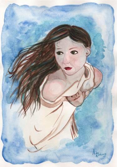 """Saatchi Art Artist Niina Niskanen; Painting, """"Fever"""" #art"""