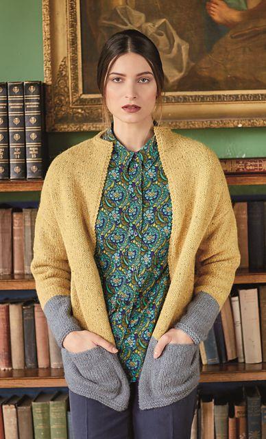 Ravelry: Tabert Jacket pattern by Lisa Richardson