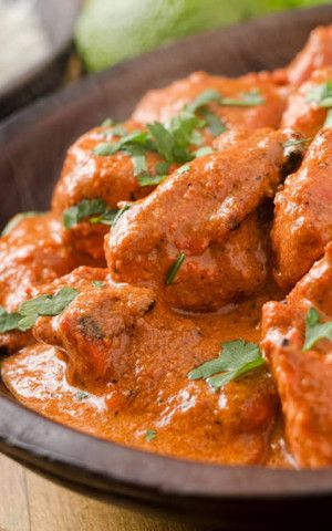 Authentic Indian Butter Chicken- incredibly yummy, cooks in about an ...
