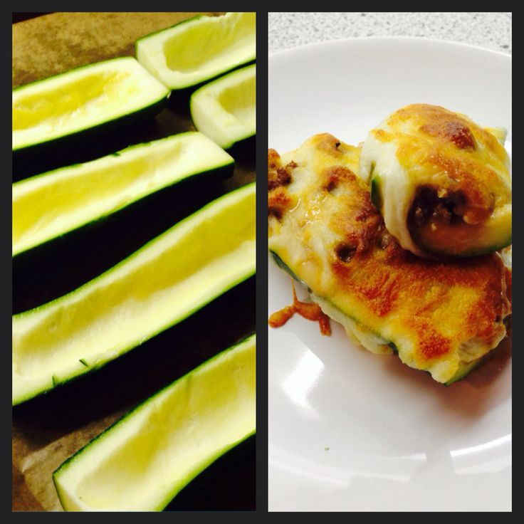 squash with spicy beef filling