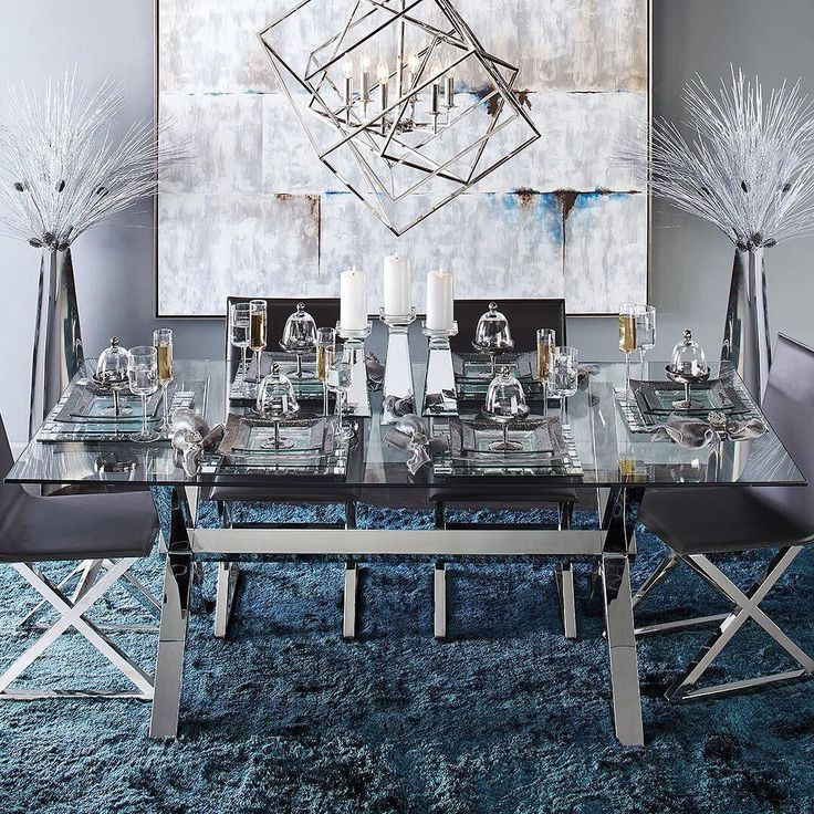 Elegant Dining Room Dinning Decor, Z Gallerie Dining Room Chairs