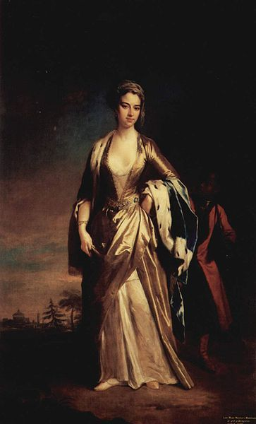 Portrait of Lady Mary Wortley Montagu (1689-1762), by Jonathan Richardson the Younger