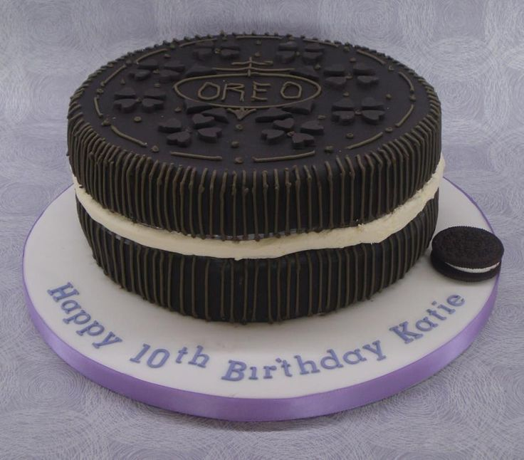 Oreo Cake Decor : 16 best images about Oreo Cakes, Cupcakes and cookies on ...