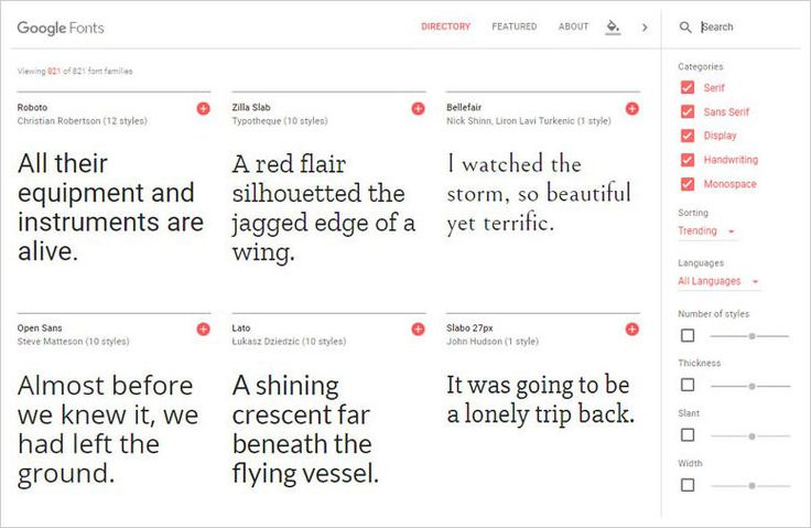 21 Most Visited Free Fonts Site