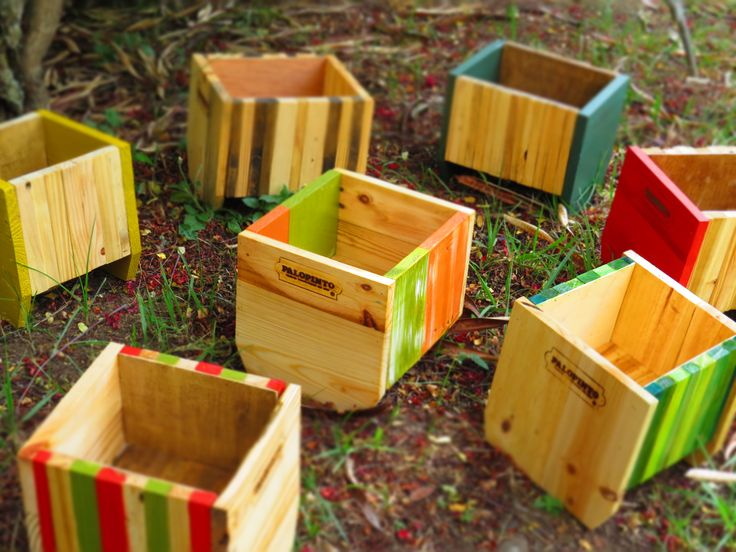 Mini Matera decorativa #pallet #decoración