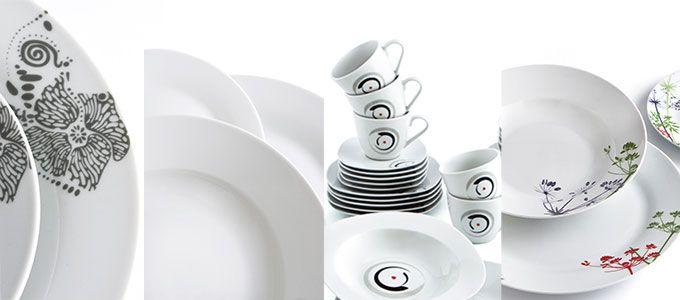 Vajillas de porcelana Quid en Alcampo