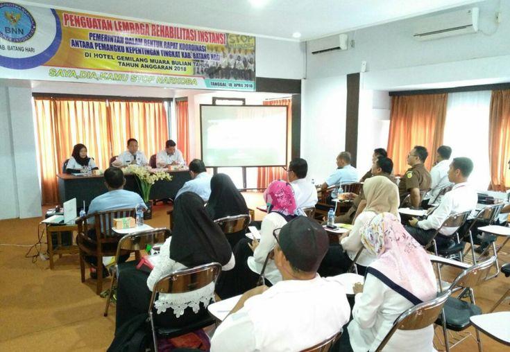 BNNK BATANGHARI SOSIALISASI PROGRAM REHABILITAS DAN PASCA REHABILITAS