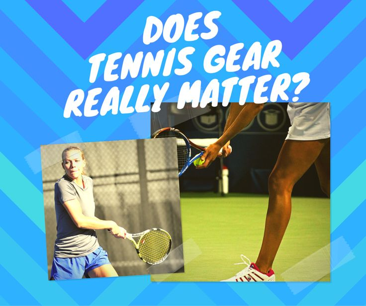 🎾 Gear – we all love it! For some players having the latest #tennis gear and gadgets brings as much excitement as the game itself. But does this really matter?