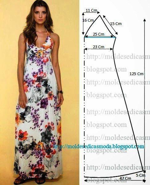 Сшить платье быстро и просто